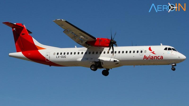 Avião ATR 72 Avianca Argentina