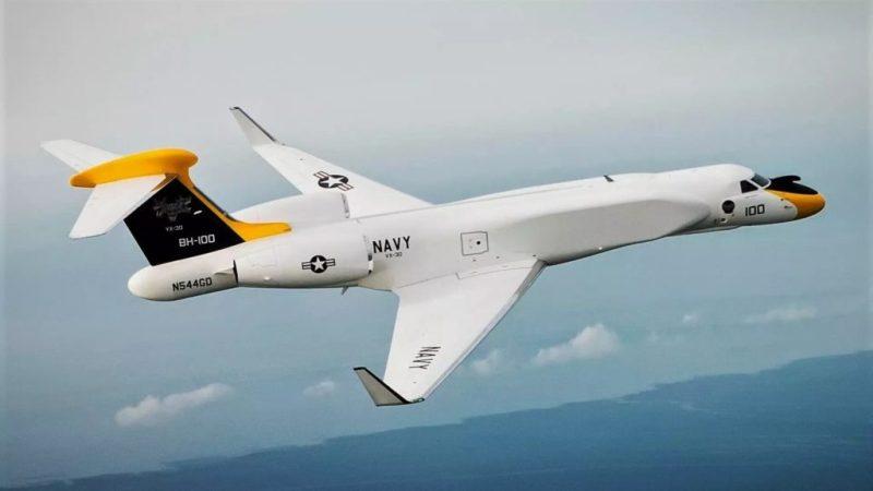 avião jato gulfstream g550 nc-37b