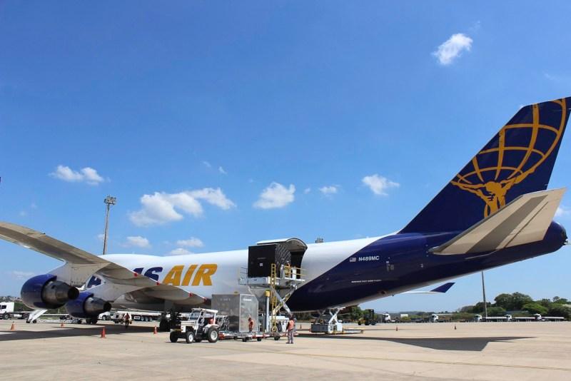 Aeroporto Viracopos Formula 1 2018 Boeing 747 Atlas Carga