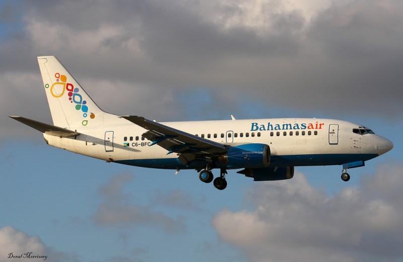 Avião Boeing 737 Bahamasair