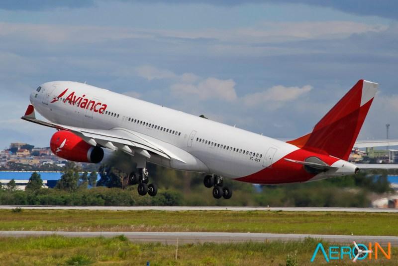 Avião Airbus A330-200 Avianca
