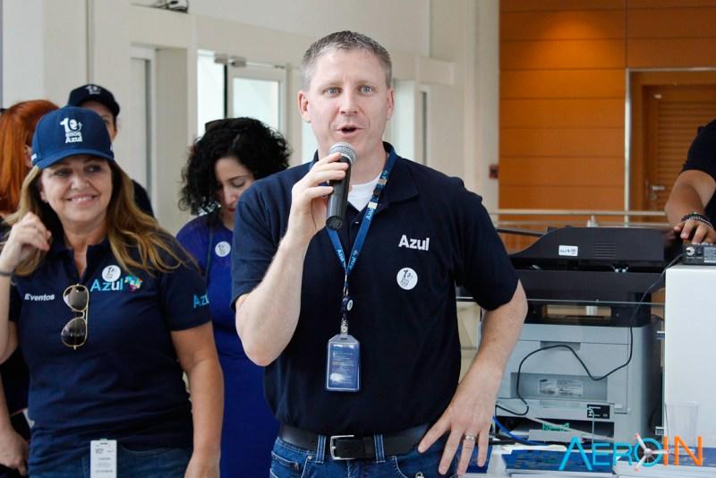 John Rodgerson presidente Azul Linhas Aéreas