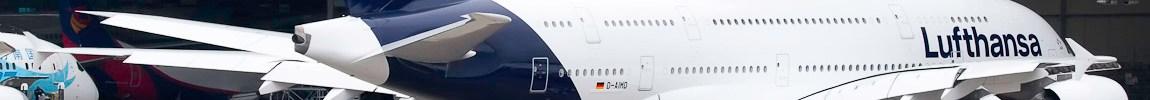 Avião Airbus A380 Lufthansa New Livery Guangzhou