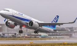 Avião Airbus A320neo ANA All Nippon Airways