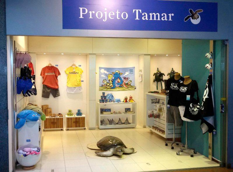 Loja Projeto Tamar Aeroporto Salvador