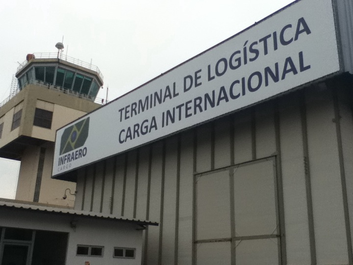 Aeroporto TECA Carga Cuiabá Infraero