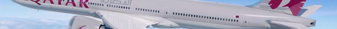 Avião Boeing 777X Qatar