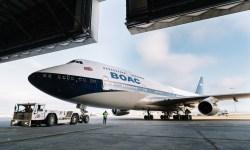 Avião Boeing 747-400 BOAC Livery British Airways
