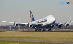 Avião Boeing 747 Singapore Cargo