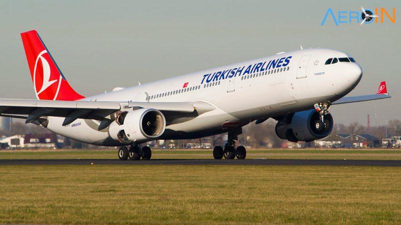 Avião Airbus A330 Turkish