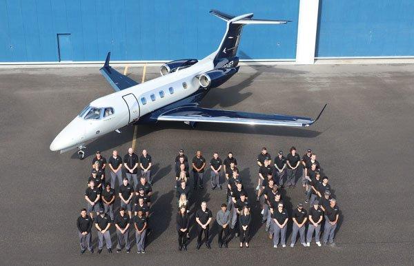 Avião Executivo Embraer Phenom 300 300E 500 unidades