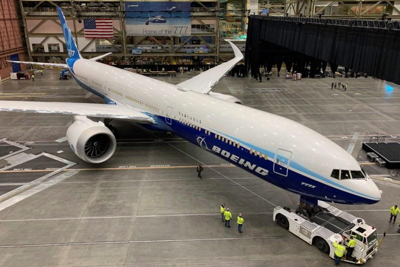 Avião Boeing 777X