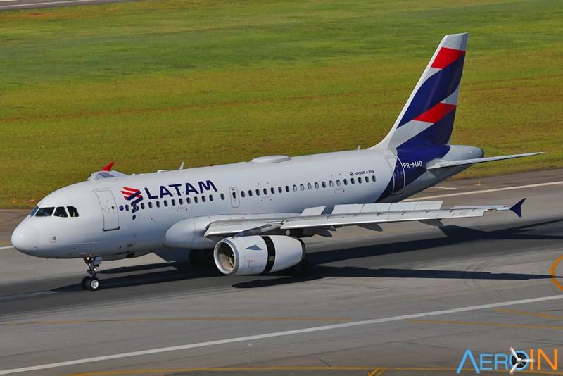 Avião Airbus A319 LATAM