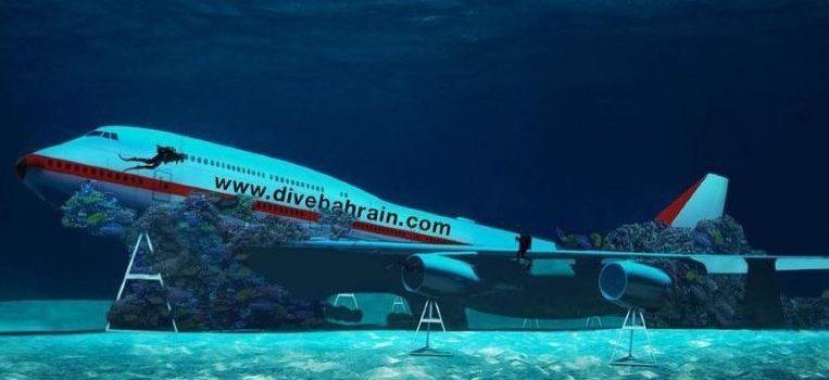 Dive Bahrain 747 Submerso