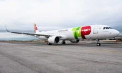 Avião Airbus A321neo A321LR TAP