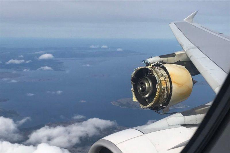 Motor GP7200 A380 Air France
