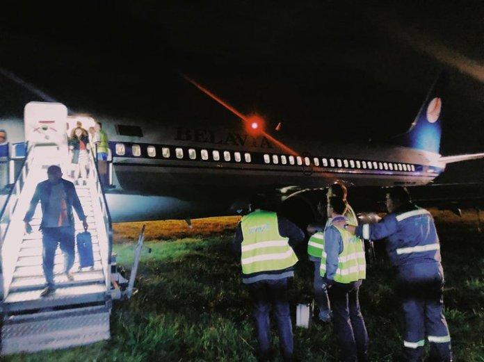 Belavia Boeing 737-300 incidente Kiev