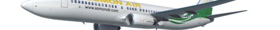 Avião Boeing 737 Somon Air