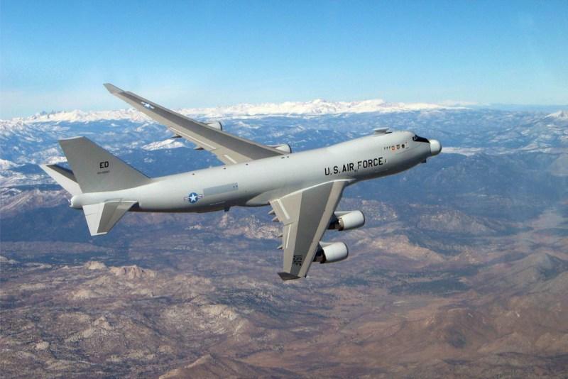 Boeing 747 Laser