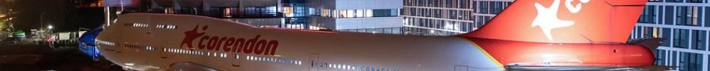 Hotel Corendon Avião Boeing 747