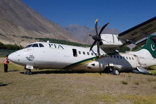 Avião ATR-42 PIA Pakistan Acidente