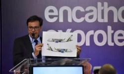 croqui avião presidencial Bolsonaro