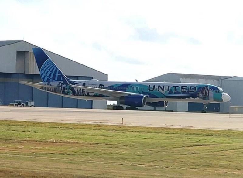 Boeing 757 United