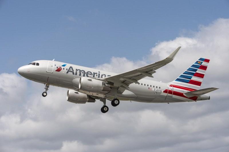 Airbus A319 da American
