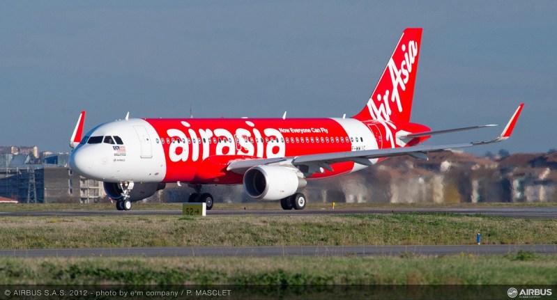 Airbus A320 da Air Asia, mesmo modelo envolvido no caso do cachorro