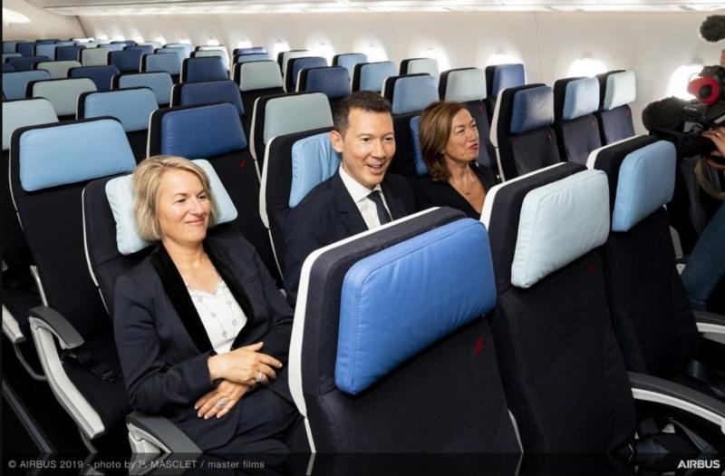 Air France Primeiro A350-900 Entrega