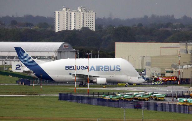 Beluga Airbus Hawarden