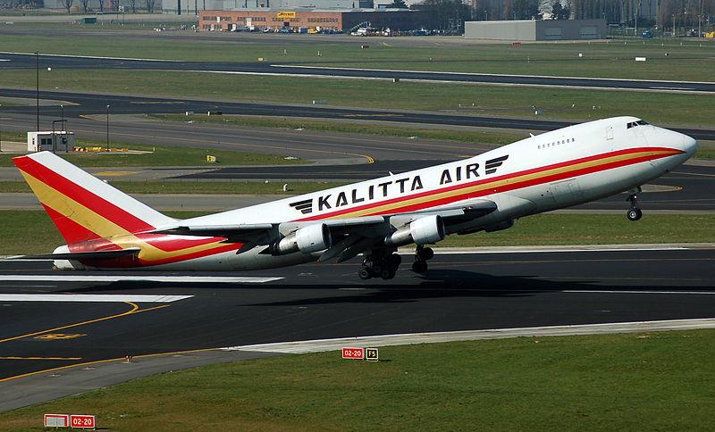 Boeing 747 Kalitta Wim Bladt