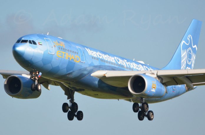 Etihad A330 Manchester City