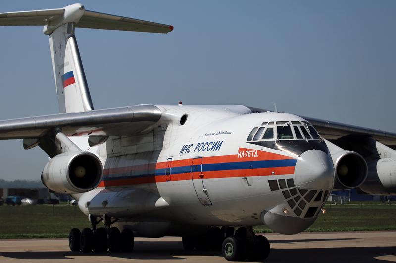 Ilyushin IL-76 do MHCS russo