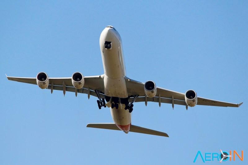 Avião Airbus A340 Iberia