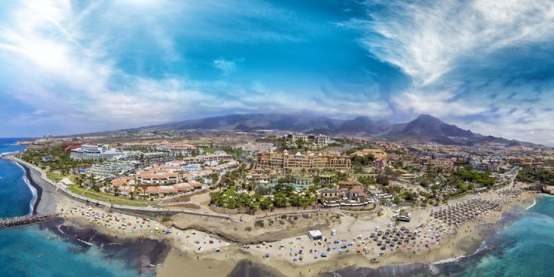 Ilha Gran Canaria Vista Aérea