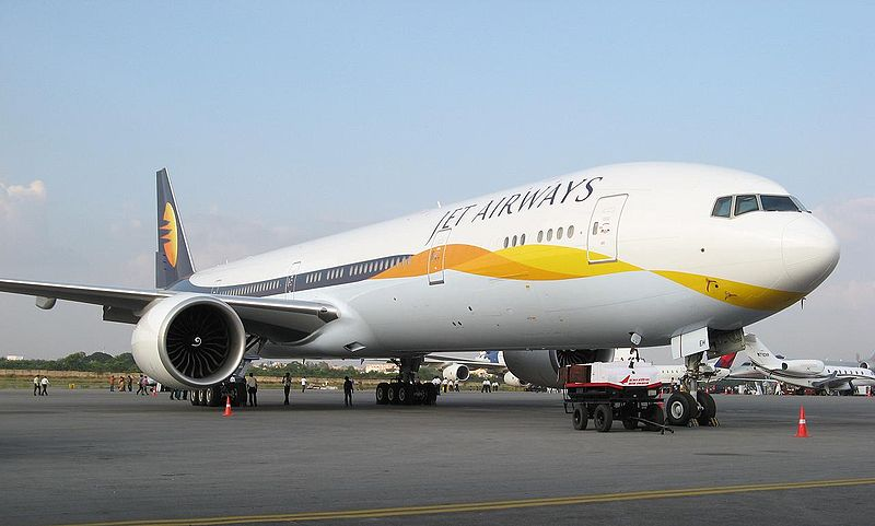 Jet Airways 777 Efromovich