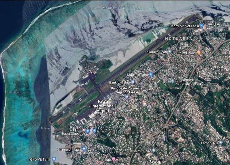 Maps Fa'a'ã International Airport Tahiti