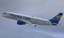 Avião Airbus A320 Thomas Cook Scandinavia