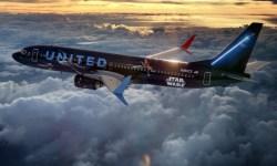 Avião Boeing 737 Unites Star Wars
