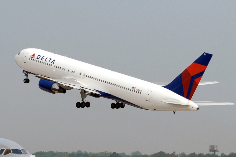 Avião Delta Air Lines Boeing 767-400