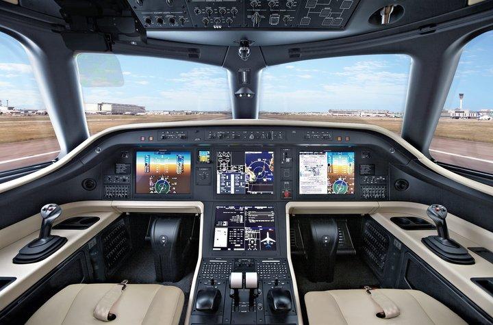 Embraer Praetor 500 Cabine Cockpit