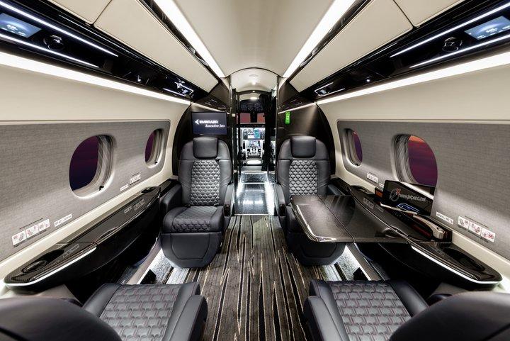 Embraer Praetor 500 Cabine Passageiros