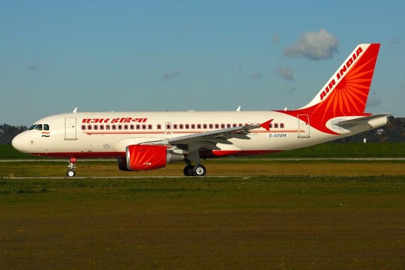 Avião Airbus A319 Air India