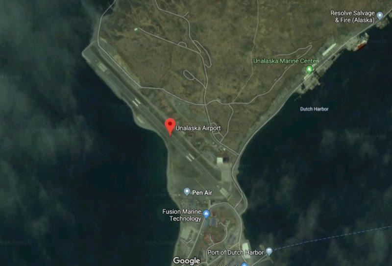 Mapa Unalaskka Airport Google Maps