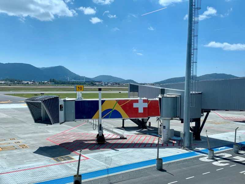 Novo terminal aeroporto Florianópolis Floripa Airport