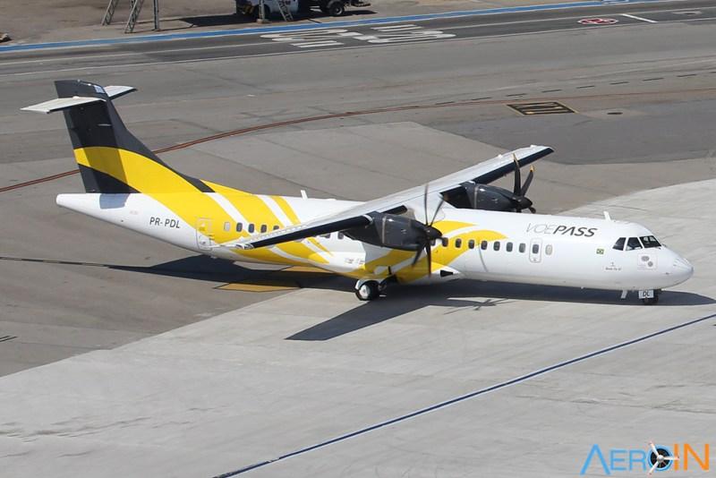 ATR 72 VOEPASS MAP Linhas Aéreas
