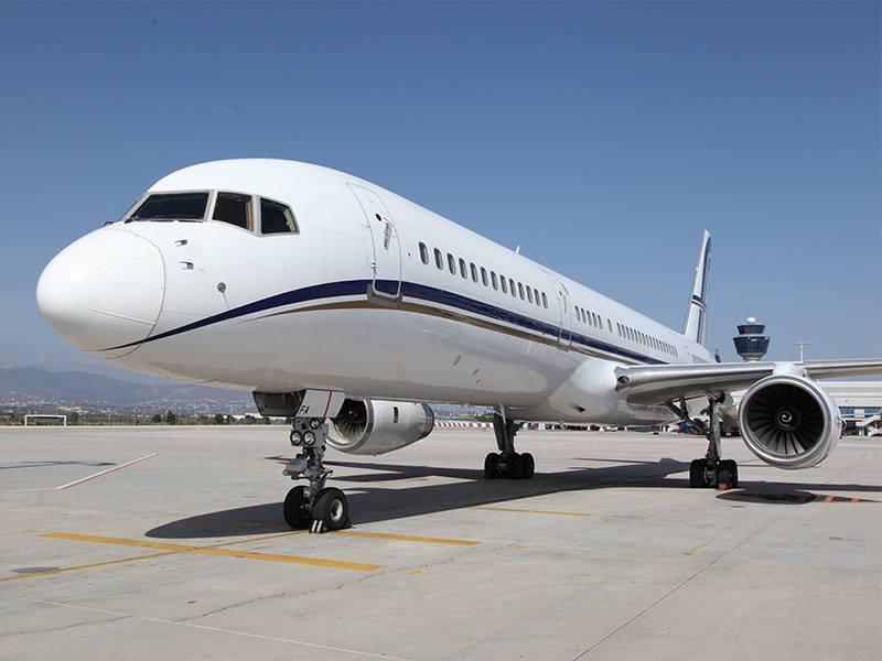 Avião Boeing 757 VIP Tour