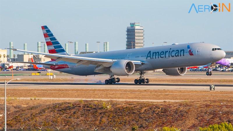 Boeing 777 American Airlines