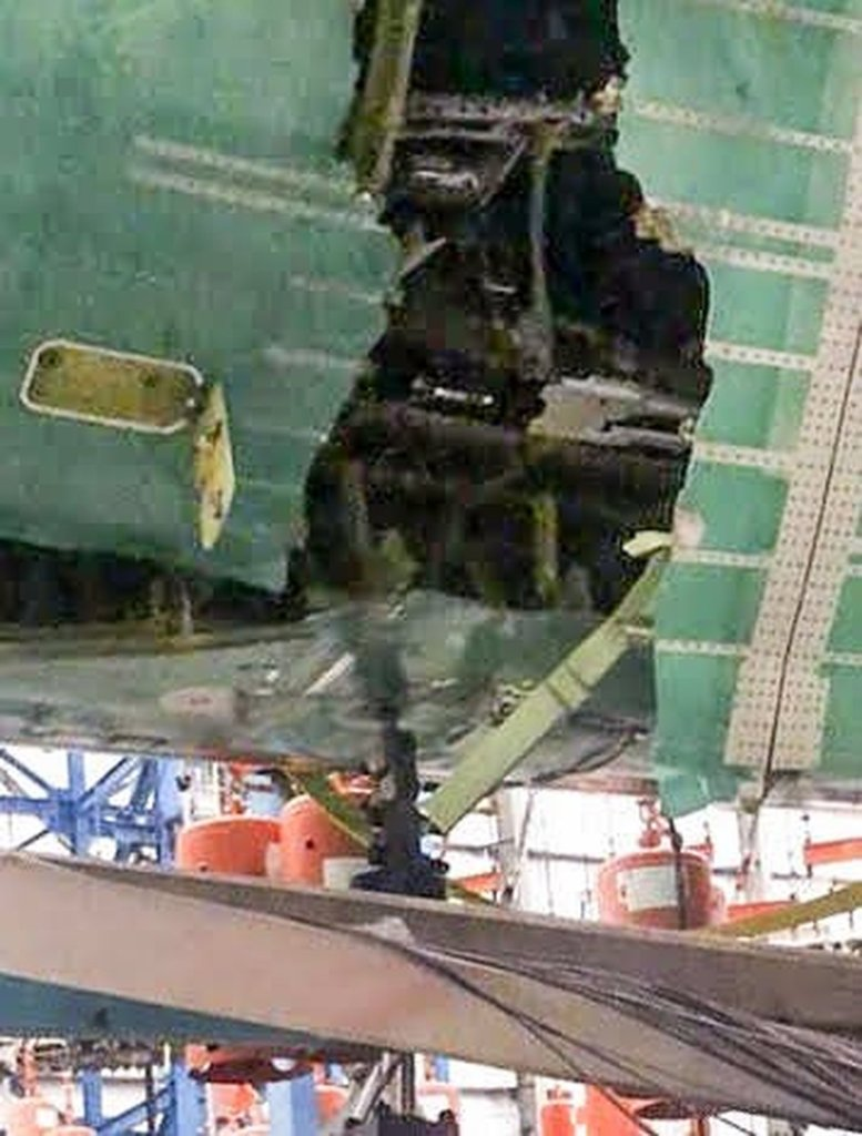 Boeing 777X buraco